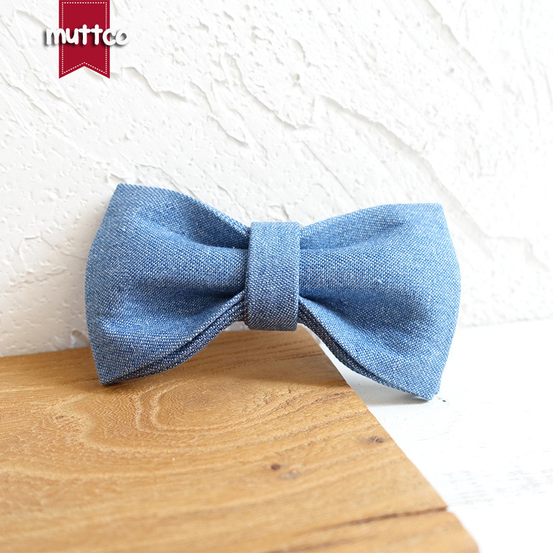 Muttco Pet Bow Dog Bowtie Neck Ring Gentleman Pet Decorations Ubt-035