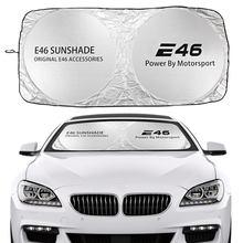 Auto Windschutzscheibe Sonnenschutz Abdeckung Für BMW E46 M3 318i 320d 325i 330ci M43TU N42 Coupe Zubehör Anti UV Reflektor visier Protector