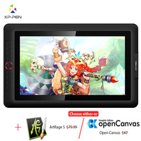 XP Pen Artist15.6 Pro Drawing tablet Graphic monitor Digital tablet Animation Drawing Board with 60 degrees of tilt function Art