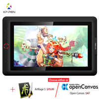 Xp-pen Artist15.6 Pro tablette de dessin moniteur graphique tablette numérique Animation planche à dessin avec 60 degrés de fonction d'inclinaison Art