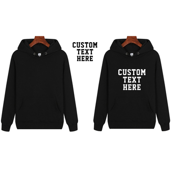 2020 Customized logo Print Hoodies Cotton Fleece Hoodies Men's Hoodie Lover Cotton Hoodie Men/women Casual Hoodie Pullovers Tops фото