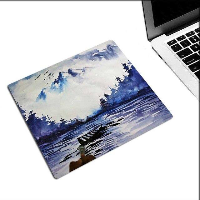 XGZ tapis de souris de jeu promotionnel HD voile bureau ordinateur tapis de bureau en caoutchouc naturel vitesse lavable tissu sous-verres personnalisés