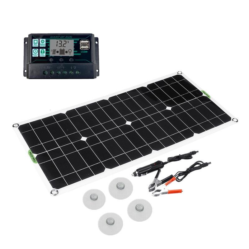 protable painel solar kit 100w 18v dupla 01
