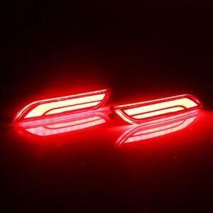 Image 4 - Ijdm 3D Quang LED Ốp Lưng Phản Quang Đèn 2018 Lên Xe Toyota Camry, Chức Năng Như Đuôi, phanh Phía Sau Đèn Sương Mù Và LED Tín Hiệu