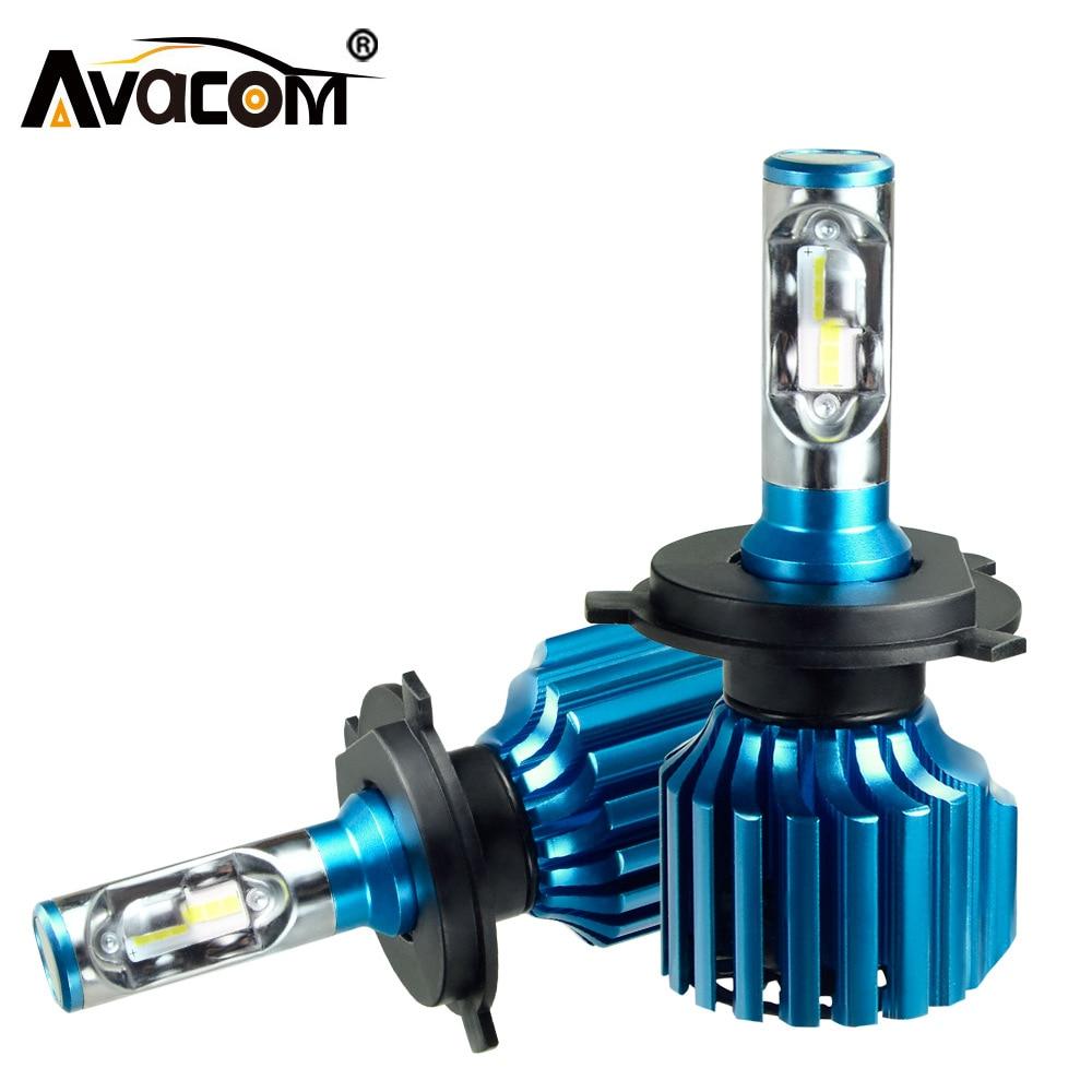 Avacom LED Turbo H11 H15 Автомобильные фары светодиодсветодиодный H7 H1 9005/HB3 9006/HB4 9012/Hir2 CSP 6500 лм K 12 в 24 В светодиодные H4 Лампа светодиодсветодиодный Авто...