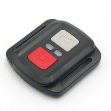 Siyah su geçirmez kablosuz 2.4G uzaktan kumanda soketi için EKEN H9R H8R H6S H7S H5S artı spor eylem kamera DV denetleyici