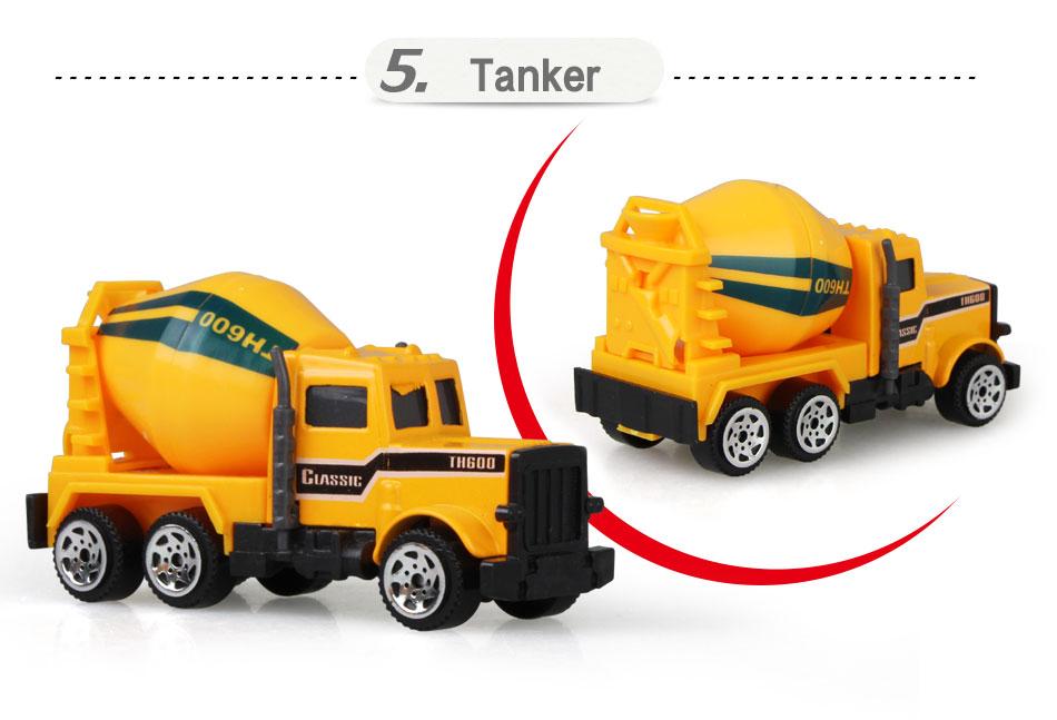 para meninos e crianças, modelo clássico de caminhão de engenharia