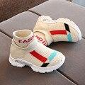 Детская обувь  кроссовки для малышей  дышащая мягкая подошва  повседневная обувь  тянущиеся сетчатые спортивные кроссовки для бега