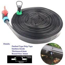 5 ~ 50m System nawadniania kropelkowego taśma kroplująca deszczowa farma szklarnia rośliny domowe ogrodowe wąż nawadniający wąż kroplowy emiter wewnątrz