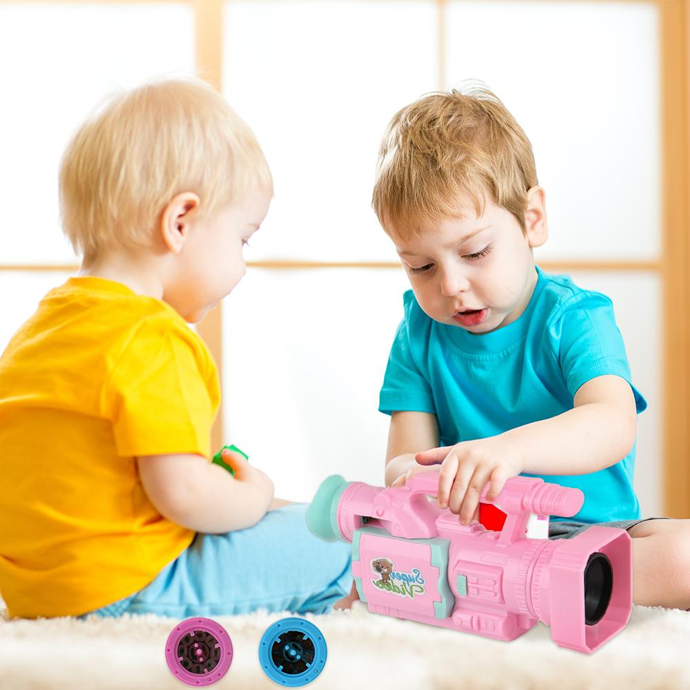 Cartoon Video Recorder Toy Fun Interactive Toy With Projection Music Self-enhancement In Entertainment Novelty Curiosity