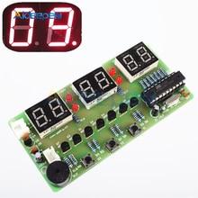 DC 7V-12V C51 Digital Electronic Clock Suite DIY Kits Six 6 Bits Electr