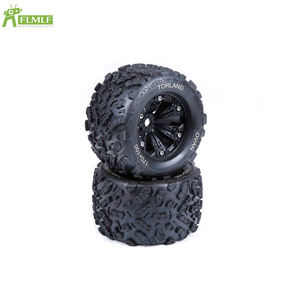 Knobby Tyres Fit for 1/8 HPI Racing Savage XL FLUX Rofun Rovan TORLAND Monster Brushless Truck Rc Car Toys Parts(China)
