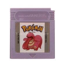 Nintendo GBC Video oyunu kartuşu konsolu kart Poke serisi horoz İngilizce dil sürüm