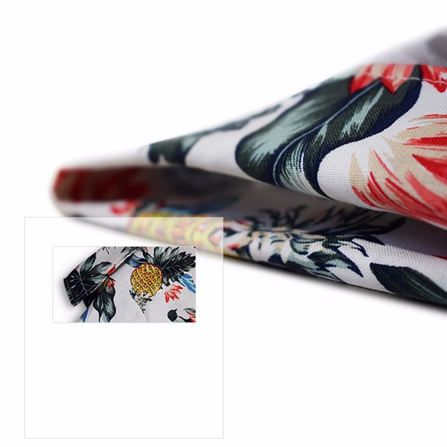 Summer Pet Printed Clothes For Dogs Floral Beach Shirt Jackets Dog Coat Puppy Costume Cat Spring Clothing Pets Outfits 6
