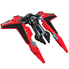 Star Space Military Series TIE Guard Fighter First Order Heavy Assault Walker Building Blocks Spaceship Assembly Toys Kids Gift