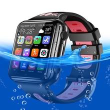 스마트 시계 4G 원격 카메라 GPS 와이파이 어린이 학생 Whatsapp 구글 플레이 스마트 시계 비디오 통화 모니터 추적기 위치 전화