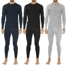 Зимние комплекты термобелья мужские брендовые термо рубашки быстросохнущие анти-микробные стрейч Мужские Термо нижнее белье мужские теплые термо