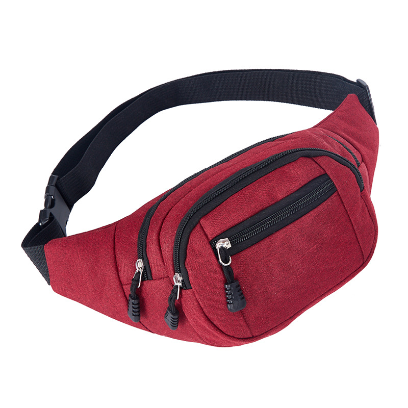 Bycobecy 2019 Men And Women Waist Bag Canvas Waist Packs Outdoor Climbing Bag Fashion Waterproof Casual Large-capacity Fannypack