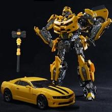 אגדי שינוי LT 01 LT01 LTS 03C צהוב דבורה MPM03 MPM 03 סגסוגת סרט Upgade KO פעולה איור רובוט מעוות צעצועים