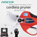 HISEED удобные 25,2 в 40 мм литиевая батарея беспроводные ножницы для резки секатор