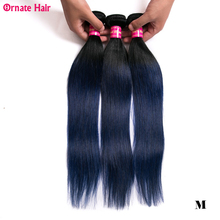 Ombre Hair Bundles Straight Hair 3Bundles Malaysia Hair Extension Two Tone 100 Human Hair Weave 8-28 Inch Non-Remy Middle Ratio cheap Ornate Hair Non-remy Hair =10 Darker Color Only Dyed Weaving Machine Double Weft 3 Bundles Straight Hair 100g(+ -5g) piece