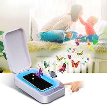 5V UV Sterilizer Phone Sterilizer Box Personal Sanitizer Disinfection Cabinet uv steriliser Jewelry Phones Cleaner