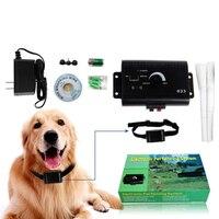 2021 neue Sicherheits Haustier Hund Elektrische Zaun Begraben Elektrische Hund Zaun Containment System Wasserdicht Hund Elektronische Ausbildung Kragen