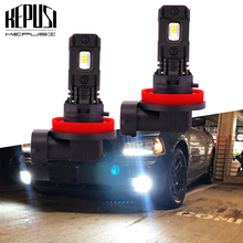 цена на 2x H11 H8 LED Car Lights LED Bulbs H7 H1 H3 9006 HB4 100W CSP Chip White Daytime Running Lights DRL Fog Light 6000K 12V Driving