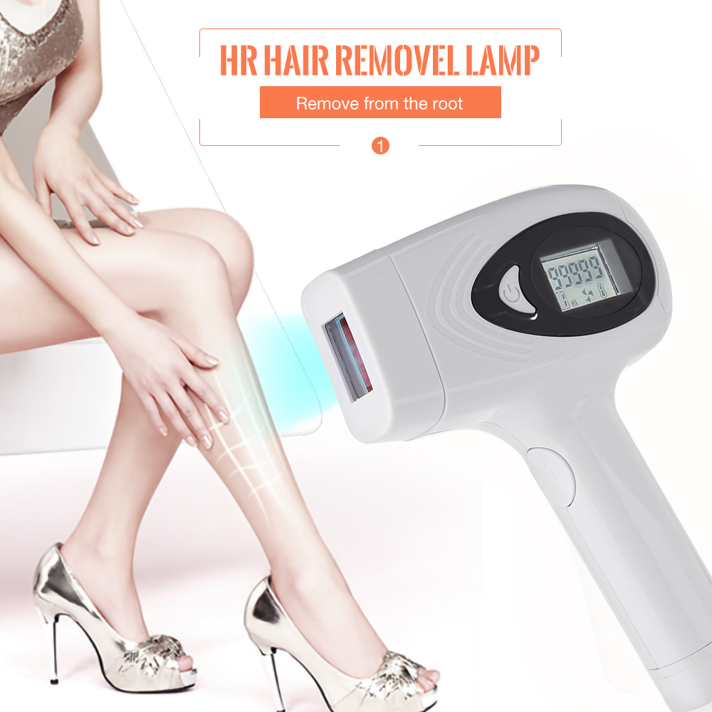 Hot Sale 2 In 1 IPL Laser Hair Removal Machine Photodepilador Laser LCD Permanent Depilador Painless Laser Epilator Bikini