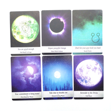 Moon  Card 44Card.Moonlogy Divination Cards Mini  The Oracle Cards Tarot Deck Board Games Playing High Quality  Astrology Cards