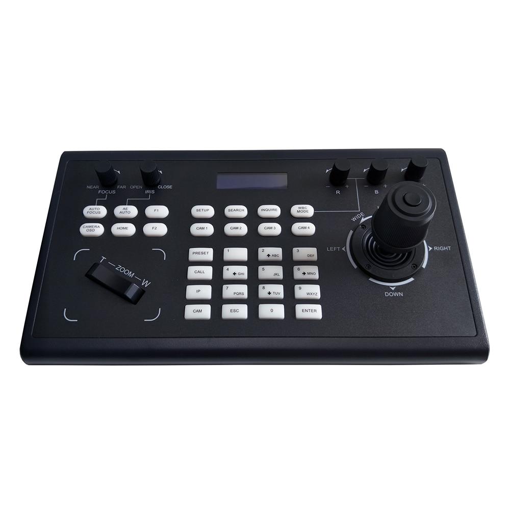 Controle da câmera do ip de hdmi sdi do controlador do joystick do ip de ptz com onvif visca-4