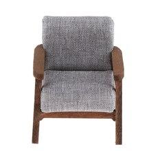 Кукольный диван, миниатюрная мебель, Кукольный диван 1/12, кресло для кукол