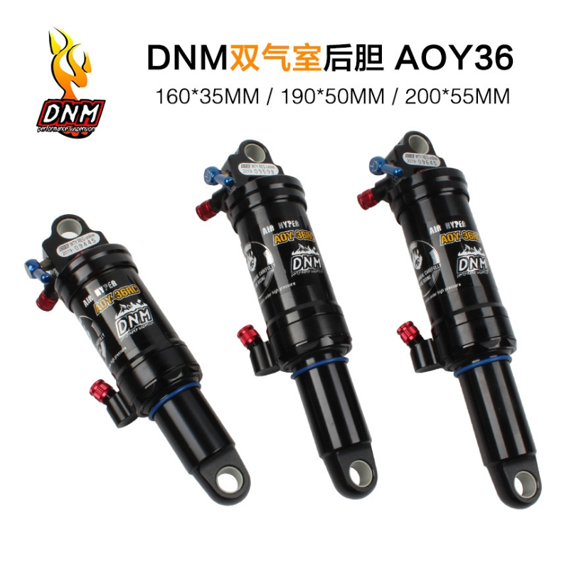 2019Bicycle Shocks DNM AOY-36RC Downhill Soft Tail Mountain Bike Rear Shock XC Trail Mountain Bike Shock Absorbers free shipping