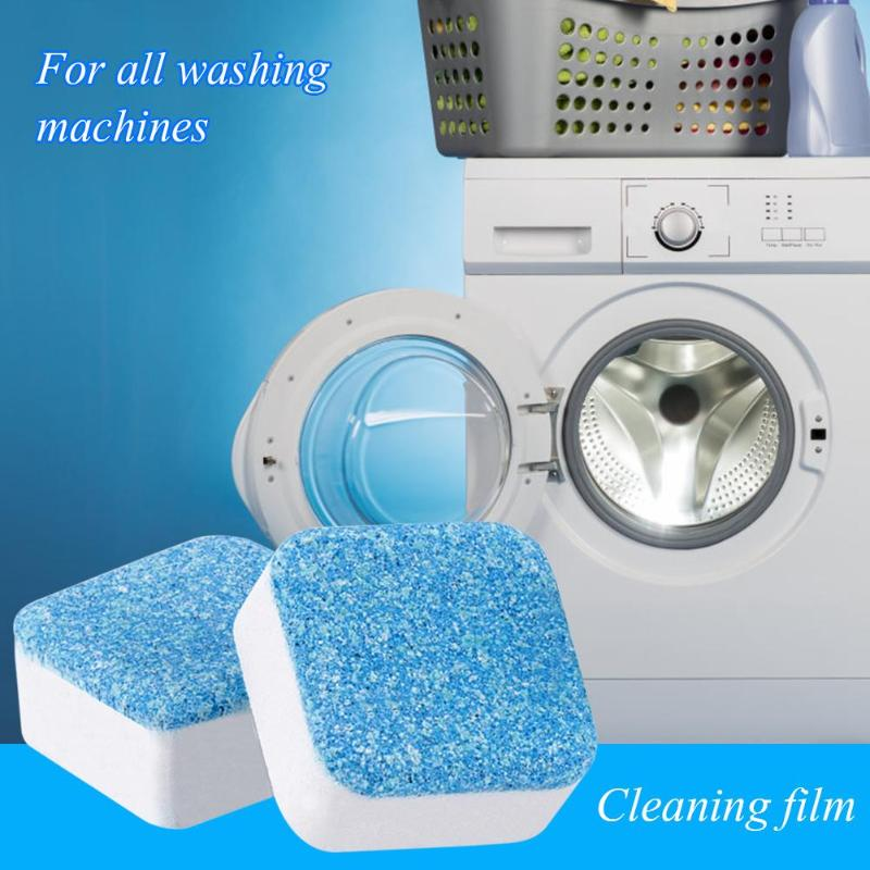 1Pcs Washer Cleaner Detergent Effervescent Eliminates Bad Smells Water-soluble Cleaning Tablet For Washing Machine Slot