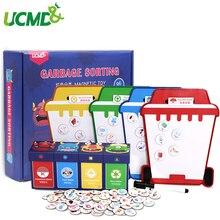 Детская головоломка городской мусор познавательная игра взаимодействие детского сада раннее образование классификация мусора преподавание игрушка СПИДа