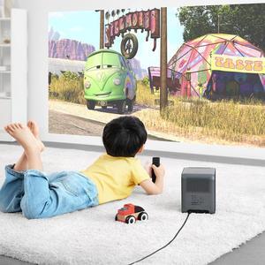 Image 2 - Youpin Fengmi Smart Lite DLP 3D Proiettore 550Ansi Lumen 1080P Supporto 4K Android 2 + 16GB smart Home, Casa Intelligente Proiettore Del Teatro