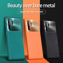 PC Case For Huawei P30 Pro Case Luxury Shockproof Bumper Back Case For Huawei P30 P40 pro Mate 20 30 pro Official Color hit color frosted case for huawei p40 pro mate30 mate 30 pro p30 pro luxury shockproof case for honor v30 pro soft silicone new