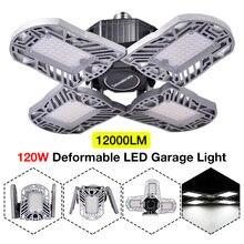 120 Вт Светодиодный светильник для гаража подвесной e27 потолочный