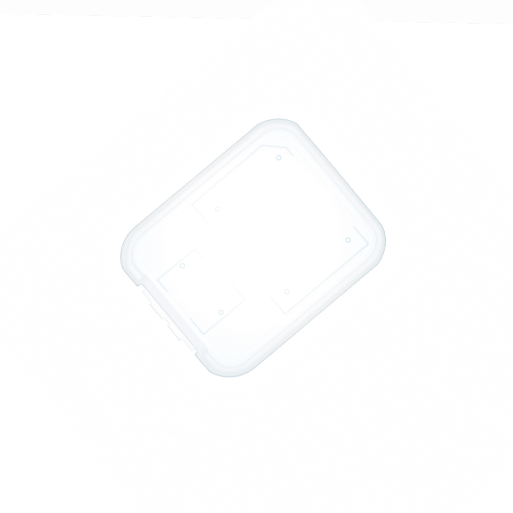 10pcs/lot Transparent Standard SD SDHC Memory Card Case Holder Box Storage New 5