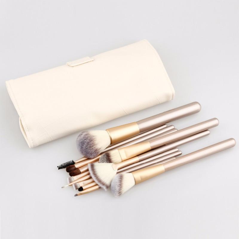 12/18/24 Pcs Professional Makeup Brush Kits High Quality Facial Blending Brush Set