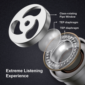 Image 5 - WHIZZER TP1S Upgrade  Head phones Bluetooth 5.0  Earphones 3D Stereo Wireless Earphones наушники беспроводные IPX5 Touch Control