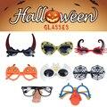 Фальшивая маска на Хэллоуин пластиковые забавные очки празднивечерние Вечеринка Реквизит для фото демон для детей взрослых украшение для ...