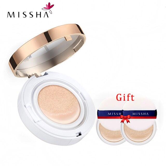 MISSHA M Magic Cushion moisture Whitening Immaculate BB cream ครีมกันแดดพนมเปญผิวชุ่มชื่นสไตล์ #21 #23