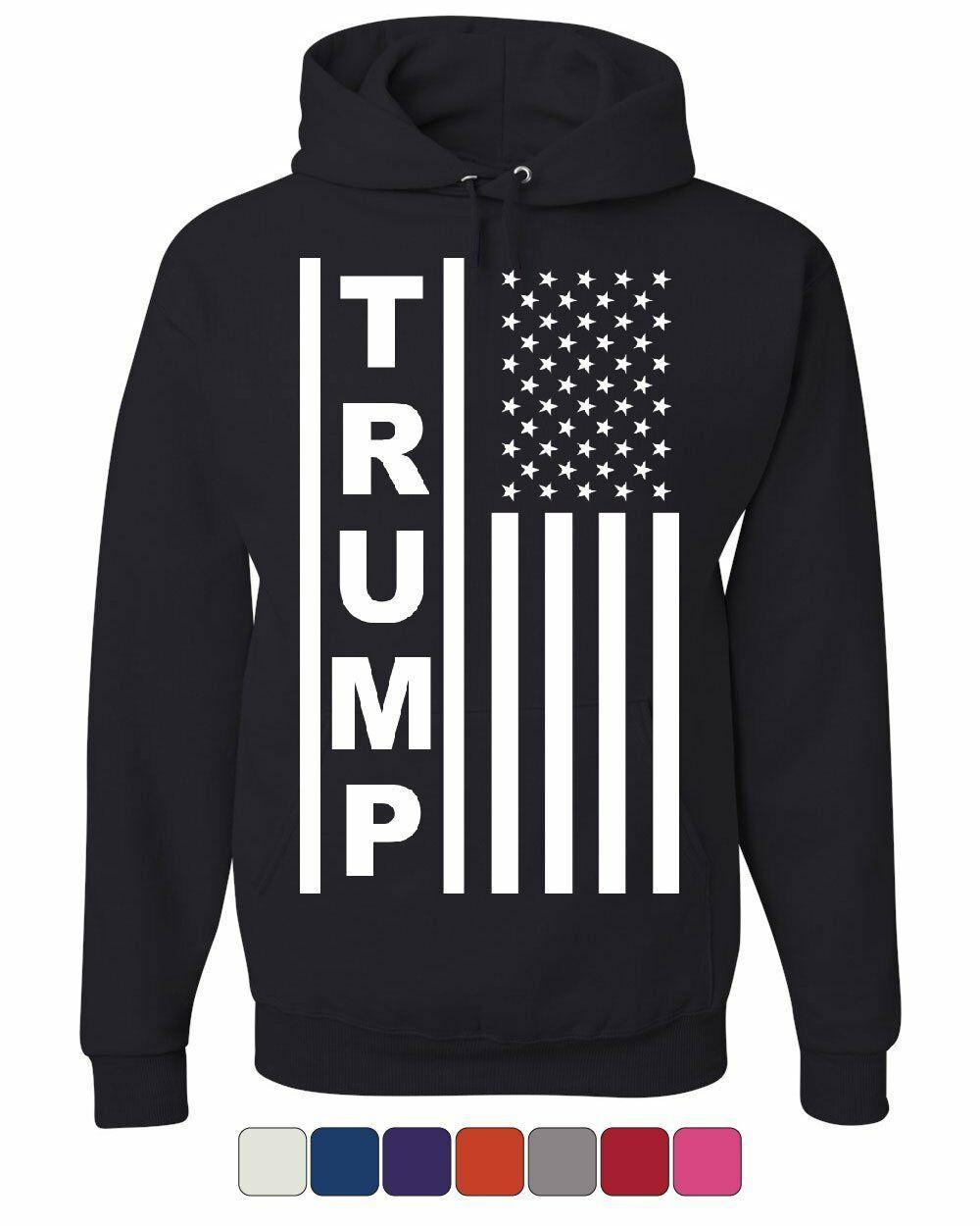 Trump Flag MAGA Republican Hoodie President USA Republican Political