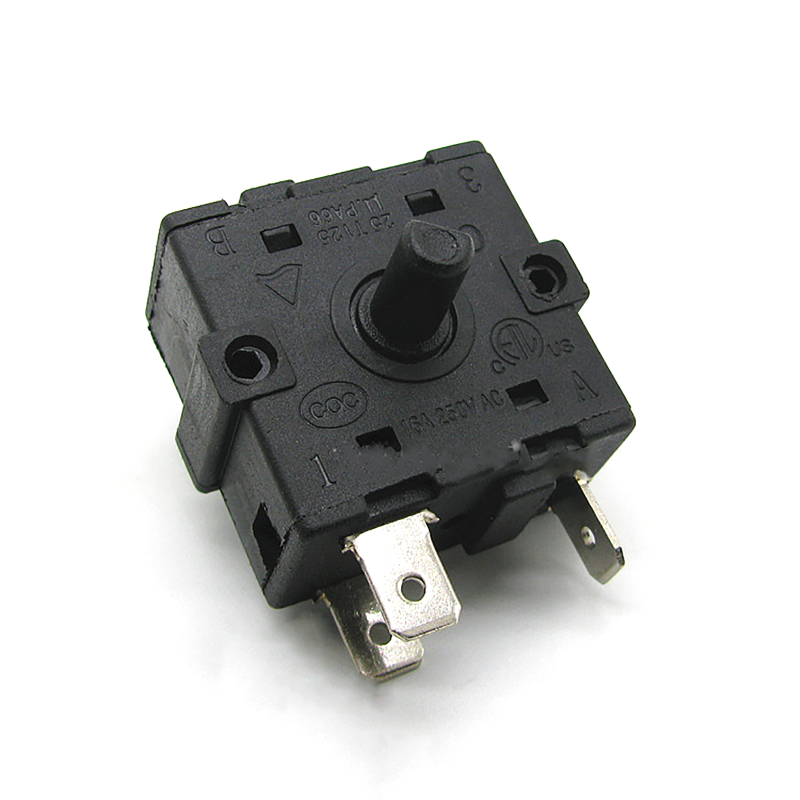 1PC 3Pin Rotary Switch 16A 250V AC For Electric Heater Radiator Repair Parts Accessories