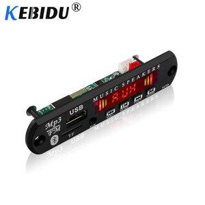 Image 4 - Kebidu 5 فولت 12 فولت بلوتوث MP3 WMA فك مجلس اللاسلكية وحدة صوت USB TF راديو ل اكسسوارات السيارات شاشة ملونة مشغل الصوت