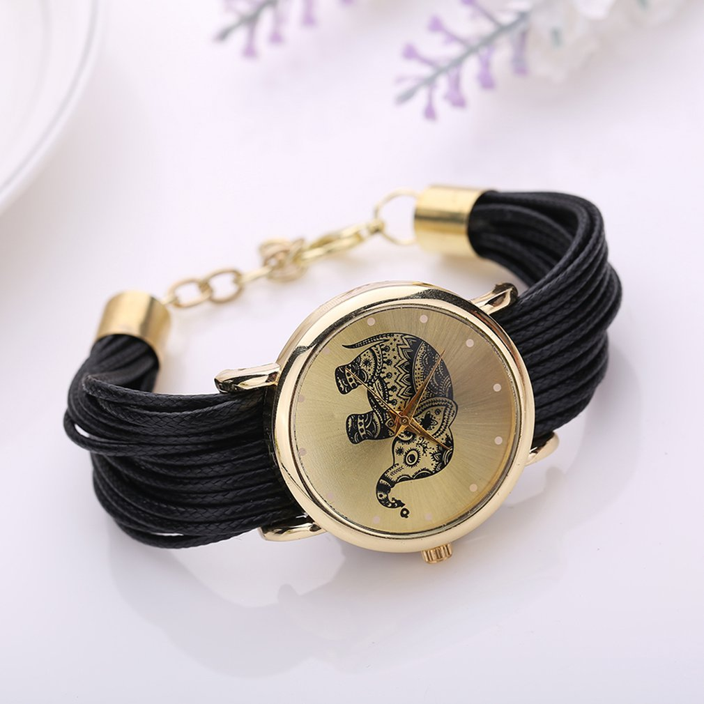 Fashion Women's Watches Round Dial Elegant Personalized Multilayers Watch Women Female Watch Relogio Feminino Reloj Mujer