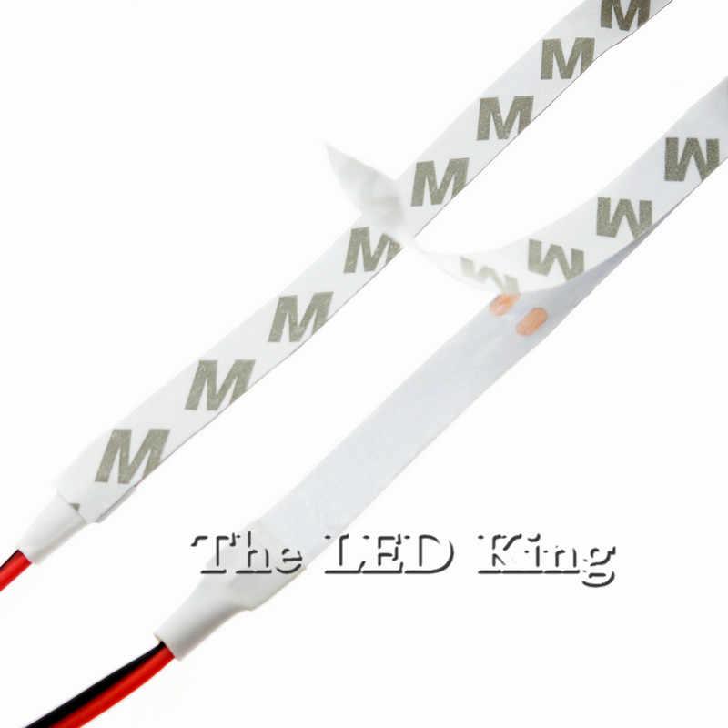 Tira de luces LED de 5M o 10 m/paquete de 2835 SMD más brillante que 3528 5050 SMD, tira de luces LED DC 12V 60LEDs/M decorativa para interiores, blanco, azul, rojo