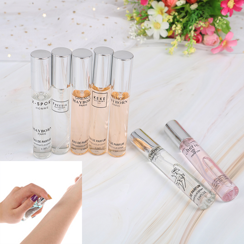 12ML/15ML Perfume For Men And Women Atomizer Bottle Glass Fashion Lady Female Parfum Long Lasting Flower Fragrance Deodorant