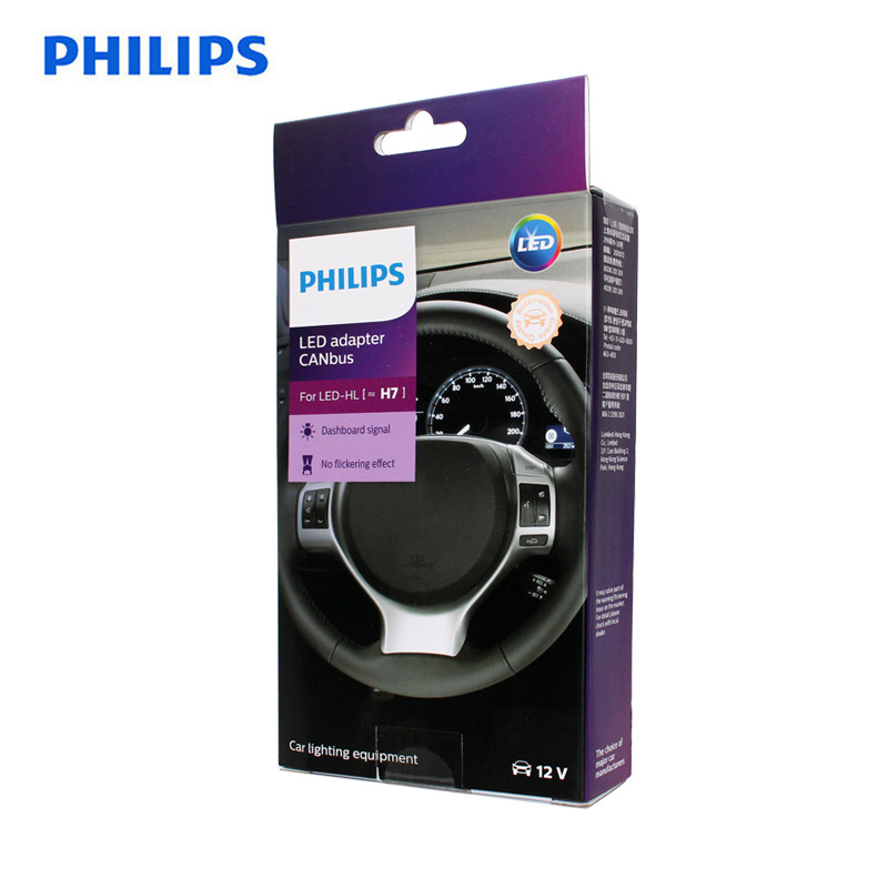 philips adaptador canbus de led 12v h7 farol decodificador acessorios para carro eliminacao de painel aviso